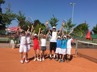 Tenniscamp in den Sommerferien